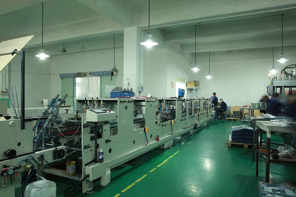 plastic packaging boxes factory