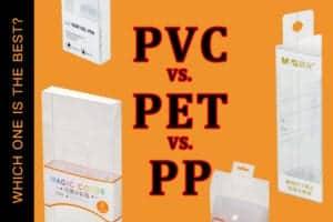 PVC vs PET vs PP | Dè an stuth a bu chòir dhomh a chleachdadh airson pacadh?