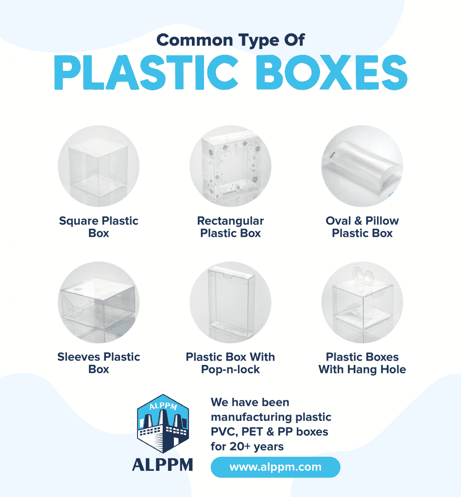 [infographic] plastic packaging boxes types