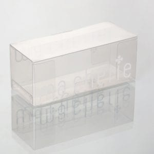 clear plastic rectangular boxes