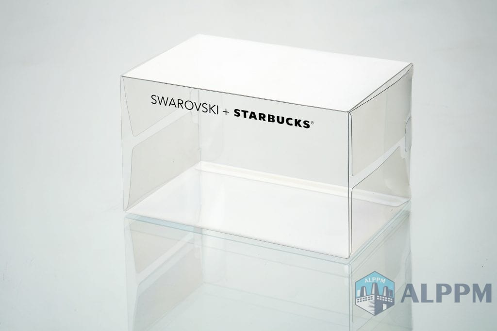 Swarovski plastic packaging boxes