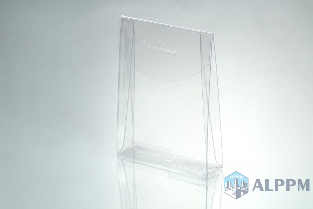 Trapezoid transparent plastic boxes