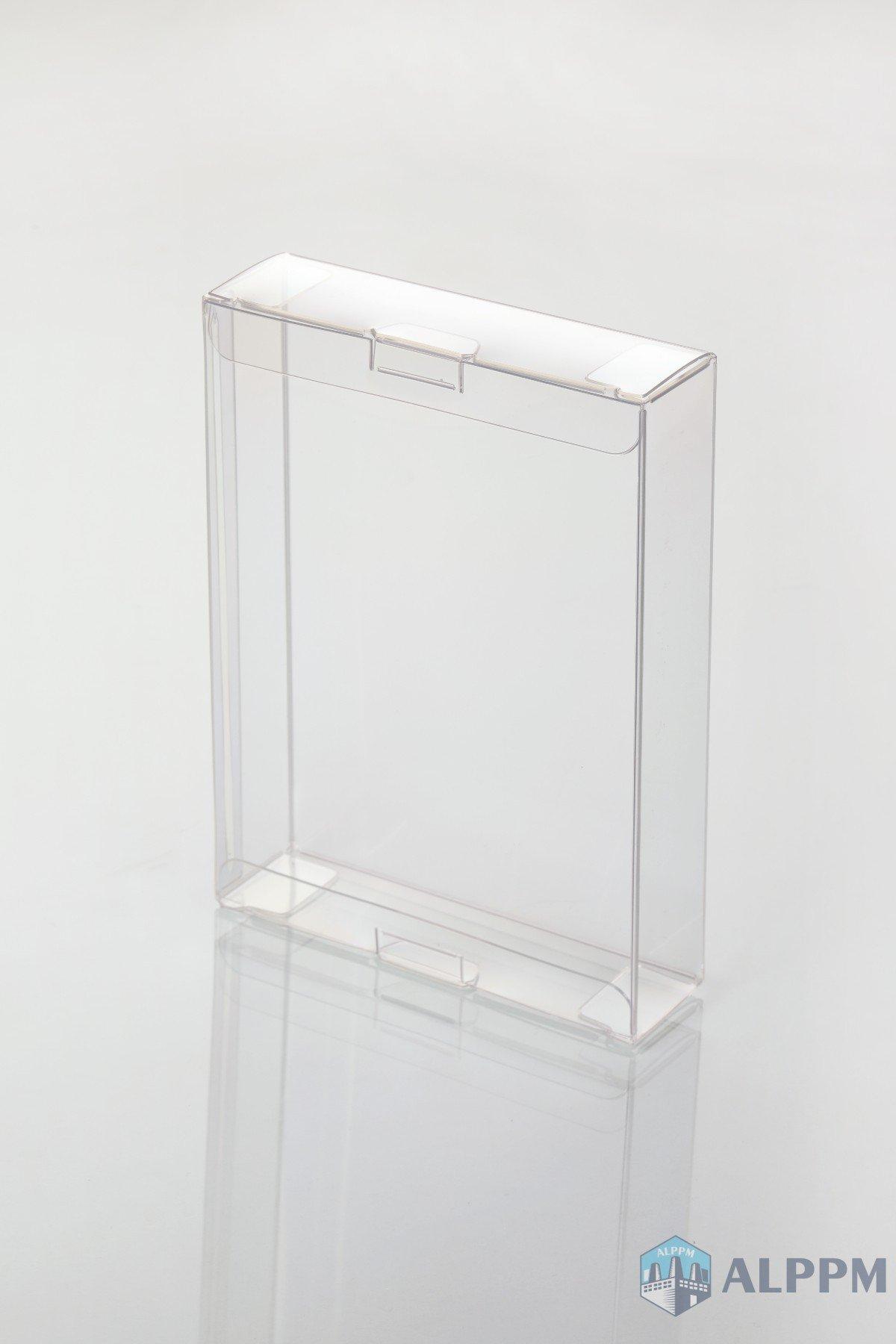 정사각형 투명 상자