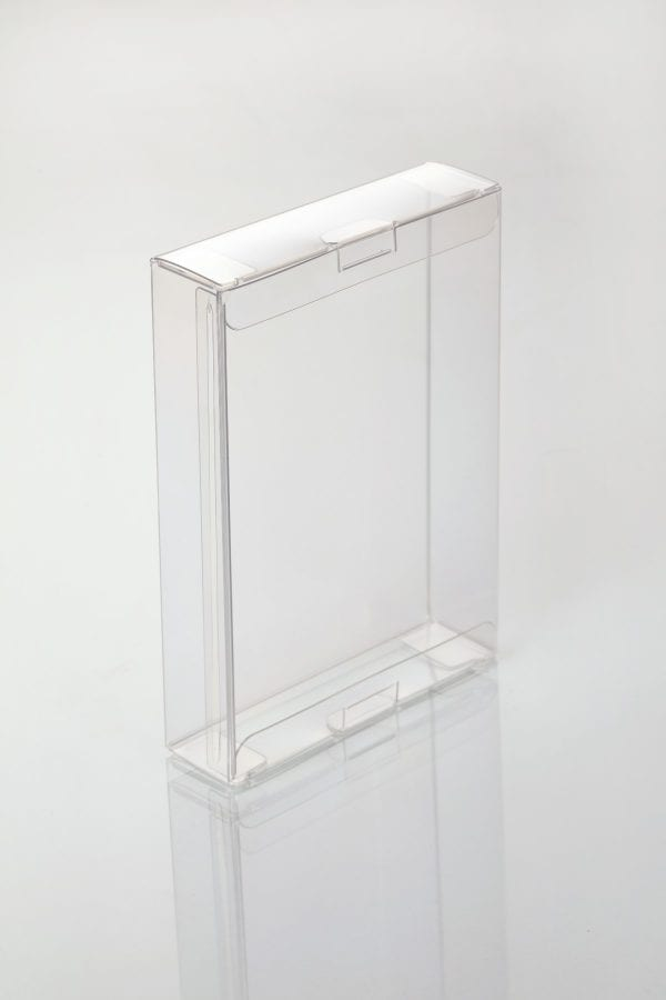 square transparent boxes