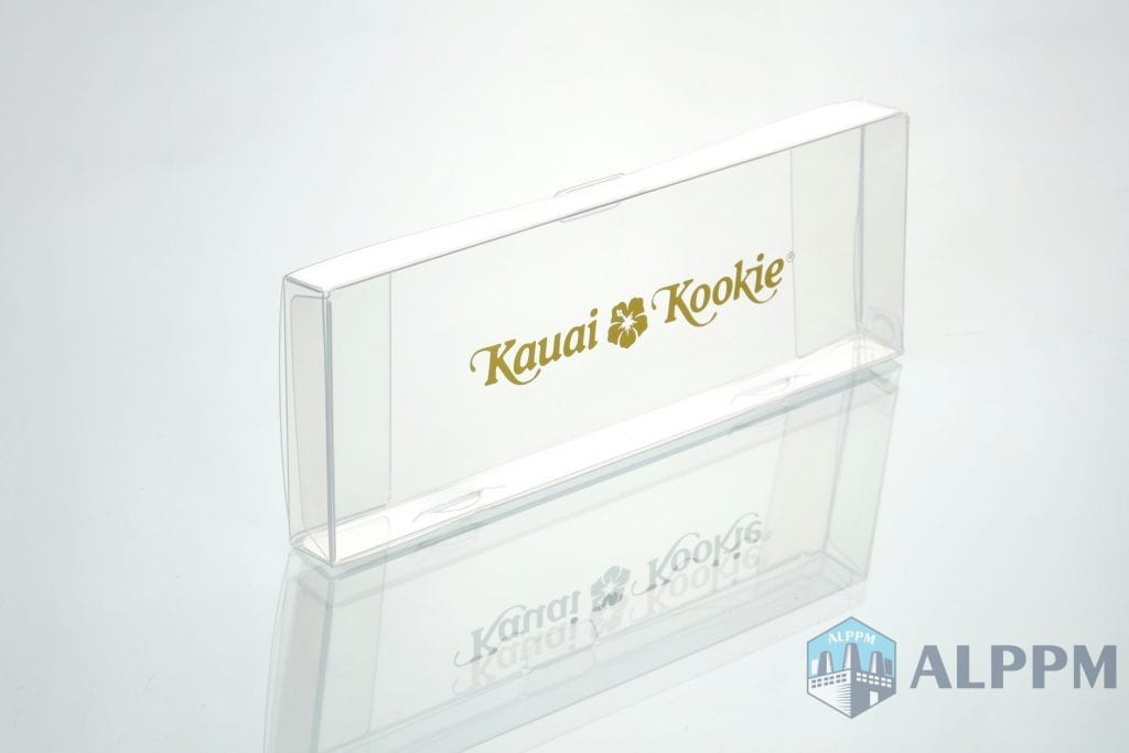 Kauai Kookie packaging box