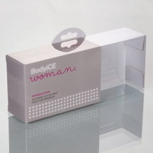 clear plastic boxes for cosmetic product