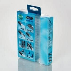 clear plastic boxes for electronics product