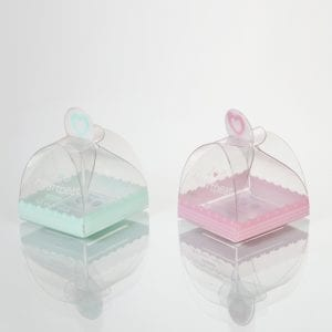 scatole regalo di plastica