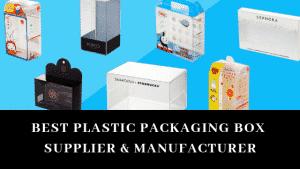 fournisseur de boîte d'emballage en plastique