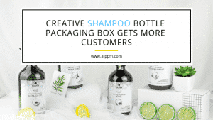 Creative Shampoo Bottle Packaging Box Gets More Customers