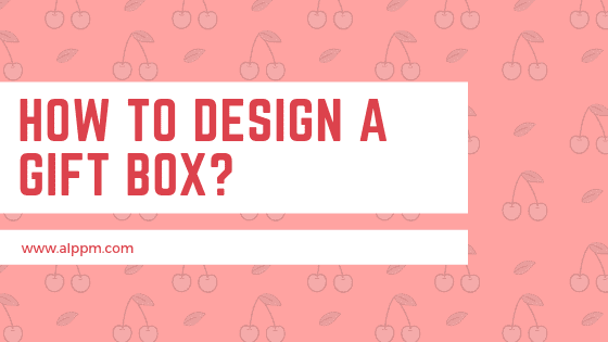 How to design a gift box_