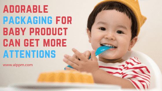 adorable packaging for baby product can get more attentions