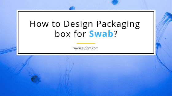 packaging design for swab