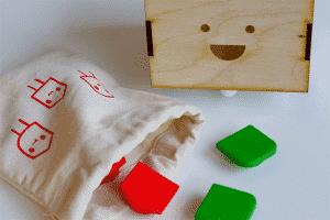 boîtes d'emballage de jouets