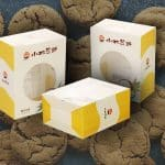 Plastic Cookies Packaging Box Design necə