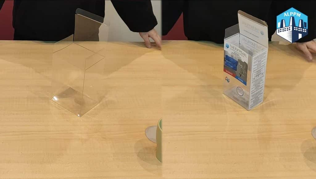Easy-to Fold-Bottom Plastic Packaging Boxes Review